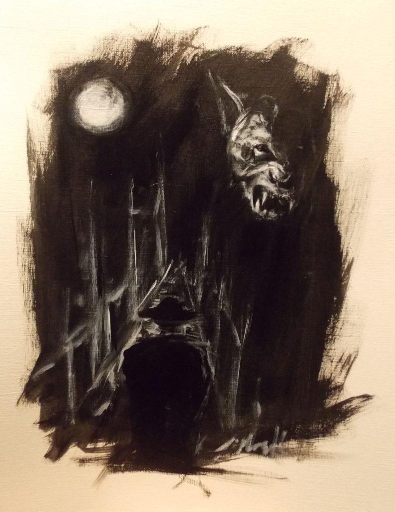 "Illustration for ""Moondance"" Copyright (c) 2016 Jihane Mossalim.  Used under license"