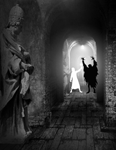 Thumbnail illustration to accompany Saint Urban and the Peril of the Predatory Pontiff. Copyright(c) 2017 by John Waltrip. Used under license
