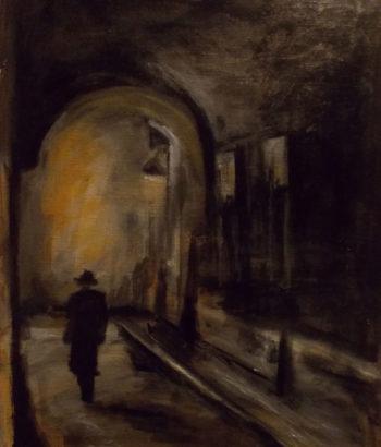 "Illustration to accompany ""The Soring"" Copyright (c) 2017 by Jihane Mossalim."