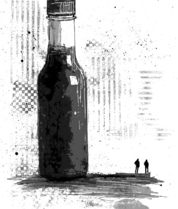 "Illustration for ""Hot Sauce Charlie"" Copyright (c) 2018 by LA Spooner. Used under license."