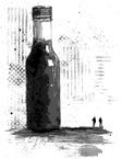 "Thumbnail illustration for ""Hot Sauce Charlie"" Copyright (c) 2018 by LA Spooner. Used under license."