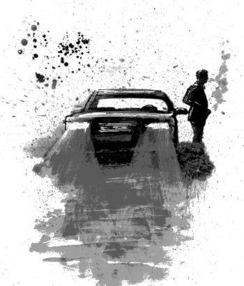 "Illustration for ""Last Stop Wichita"" Copyright (c) 2018 by LA Spooner. Used under license."