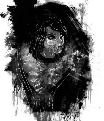 "Illustration for ""The Journal"" Copyright (c) 2019 by LA Spooner. Used under license."