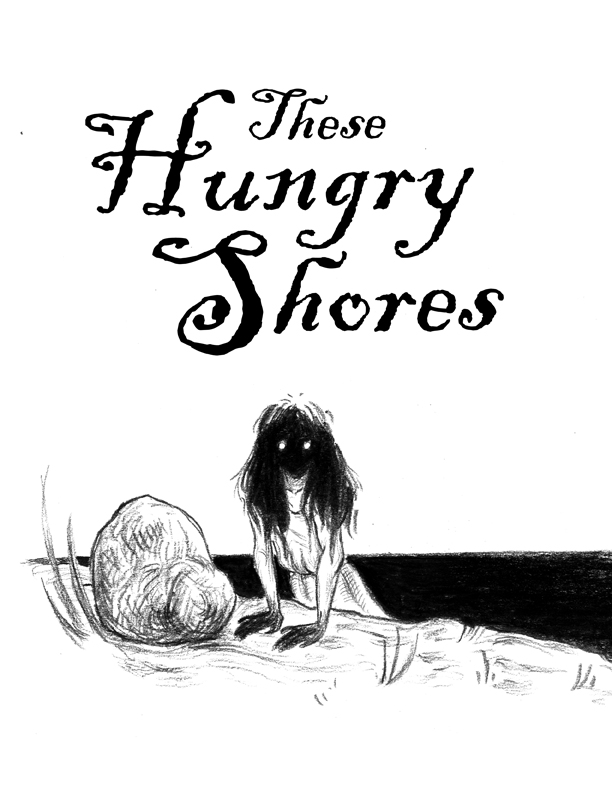 "Illustration for ""These Hungry Shores"" Copyright (c) 2019 by Lee Dawn. Used under license."