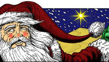 Bradley K. McDevitt - Clip Art Santa